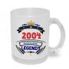 Hrnek s potiskem 2004 narození legendy