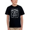 Chlapecké tričko s potiskem jména a příjmení, věkem 17 a rokem narození v motivu Jack Daniels.