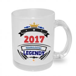 Hrnek s potiskem 2017 narození legendy