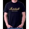 Marshall aplication se zlatým potikem. Ideální pro muže ze zálibou o muziku