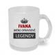 Hrnek Ivana jméno opravdové legendy, dárek pro Ivanu.