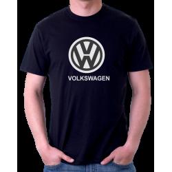 Pánské tričko s potiskem loga automobilu VOLKSWAGEN