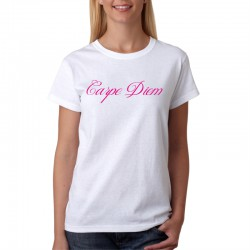 Dámské tričko s vtipným potiskem Carpe Diem