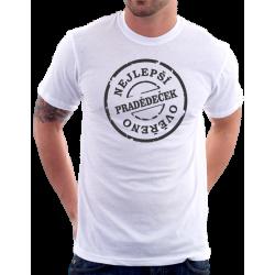 Pánské tričko nejlepší Pradědeček, ověřeno.