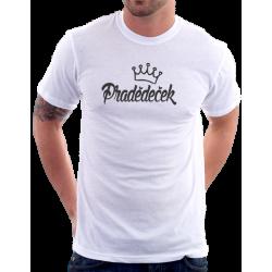 Pánské tričko Pradědeček s korunkou