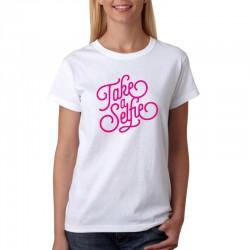 Take a Selfie - Dámské  Tričko s vtipným potiskem