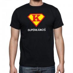 SuperKámoš - Pánské Tričko s vtipným potiskem pro kamaráda ve znaku supermana