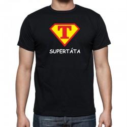Pánské tričko Super Táta ve znaku supermana.
