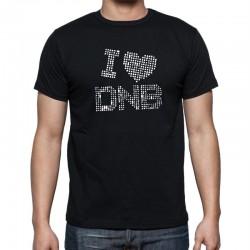 I Love Drum and Bass - Pánské Tričko s vtipným potiskem