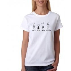 Dámské tričko Festivalová Evoluce, tričko je ideální na festival