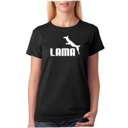 Lama - Dámské Tričko s vtipným potiskem