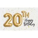 k 20 narozeninám