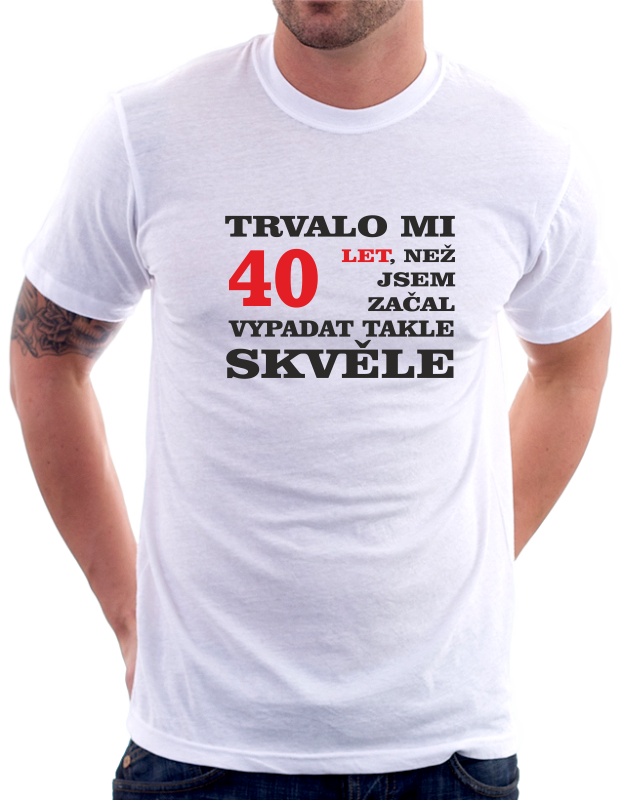 Dárek k 40 narozeninám
